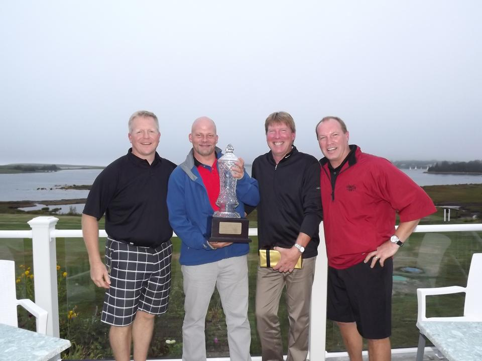 2014 Winning Team - William Dennis Memorial Golf Tournament